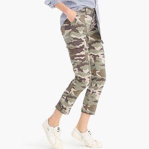 J.Crew camo pants